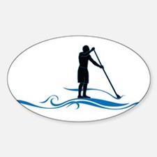 Stand Up Paddle-Waves Decal