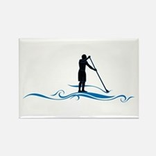 Stand Up Paddle-Waves Magnets
