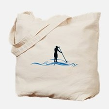 Stand Up Paddle-Waves Tote Bag