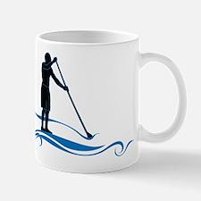 Stand Up Paddle-Waves Mugs