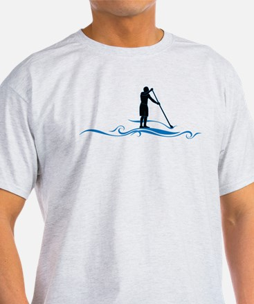 Stand Up Paddle-Waves T-Shirt