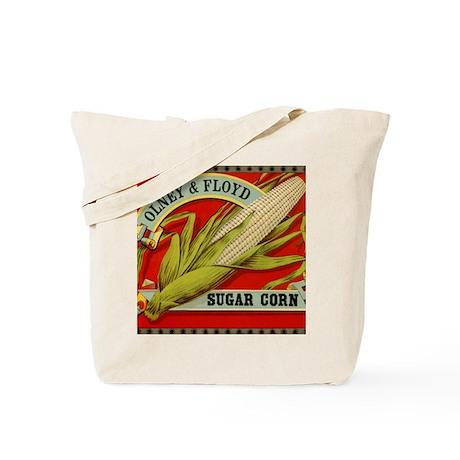 Vintage Label Art, Sugar Corn Tote Bag