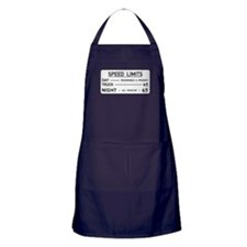 Speed Limit Reasonable and Prudent Apron (dark)