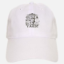 outta-white-distress.png Baseball Baseball Cap