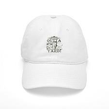 outta-white-distress.png Baseball Cap