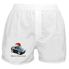 BabyAmericanMuscleCar_74Jav_Xmas Boxer Shorts