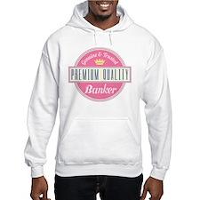 Banker Pink Vintage Hoodie