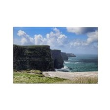 Cliffs of Moher 1 Rectangle Magnet