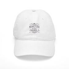 martini-dark-distress.png Baseball Cap