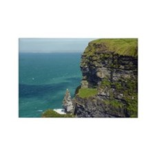 Cliffs of Moher 3 Rectangle Magnet