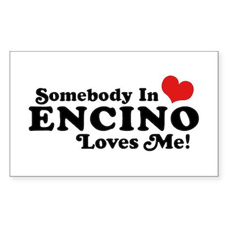 Encino California Sticker (Rectangle)