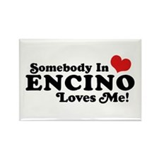 Encino California Rectangle Magnet