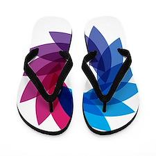 BiFlower Flip Flops