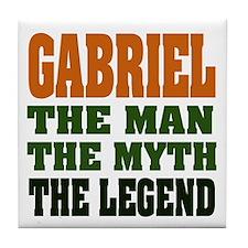 GABRIEL - the legend! Tile Coaster