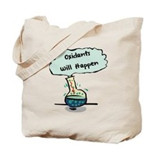 Oxidants Happen - Chemistry Humor Tote Bag