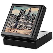 Vintage Paris Hotel Keepsake Box
