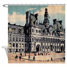 Vintage Paris Hotel Shower Curtain