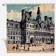 Vintage Paris Hotel Shower Curtain