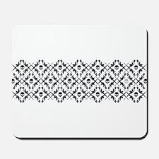 Skull Design Mousepad
