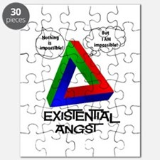Existential Angst - Penrose Triangle Puzzle