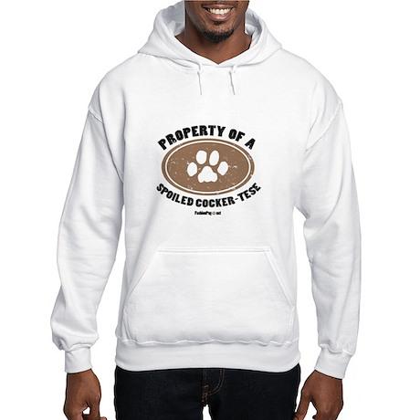 Cocker-Tese dog Hooded Sweatshirt