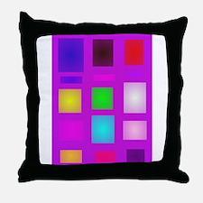 Rectangles Throw Pillow