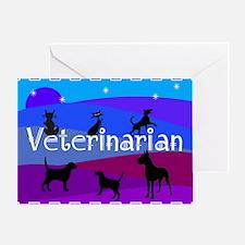 Veterinarian Blanket 1 Greeting Cards