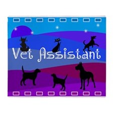 Vet Assistant 1 Throw Blanket