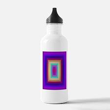 Piled Rectangles Water Bottle