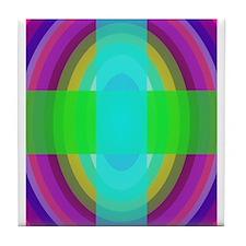 Cross Tile Coaster