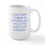 60th birthday Large Mugs (15 oz)