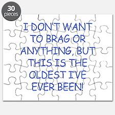 Birthday Humor (Brag) Puzzle