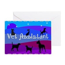 Vet Assistant 1 Greeting Cards