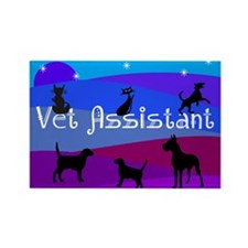 Vet Assistant 1 Magnets