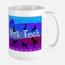Vet Tech Blanket 1 Mugs