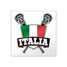 Italia Italy Lacrosse Logo Sticker
