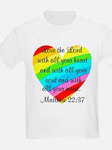 MATTHEW 22:37 T-Shirt
