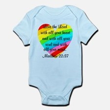 MATTHEW 22:37 Infant Bodysuit