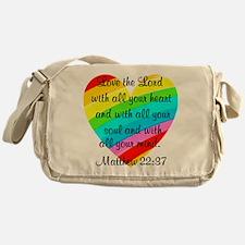 MATTHEW 22:37 Messenger Bag