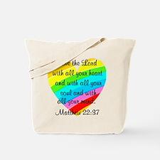 MATTHEW 22:37 Tote Bag