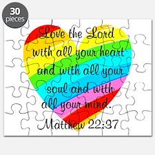MATTHEW 22:37 Puzzle