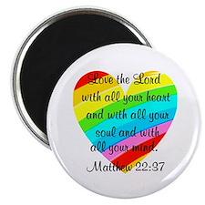 MATTHEW 22:37 Magnet