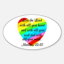 MATTHEW 22:37 Decal