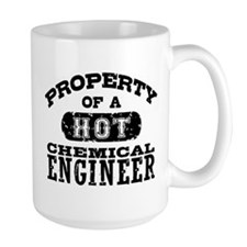 Property of a Hot Chemical Engineer Mug