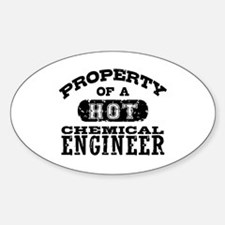 Property of a Hot Chemical Engineer Decal