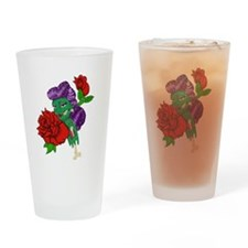 Zombie Pinup Drinking Glass