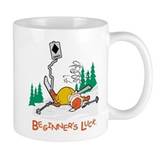 Beginners Luck Skier Mug