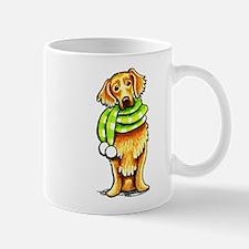 Golden Retriever Scarf Mug