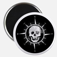 Pirate Compass Magnet
