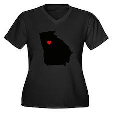 Home State - Georgia Plus Size T-Shirt